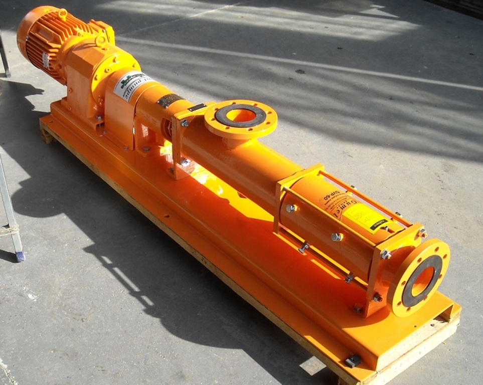 Zavojne pumpe za transport penobetona, maltera i betona